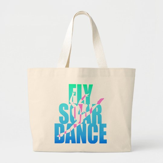 Fly Soar Dance Large Tote Bag