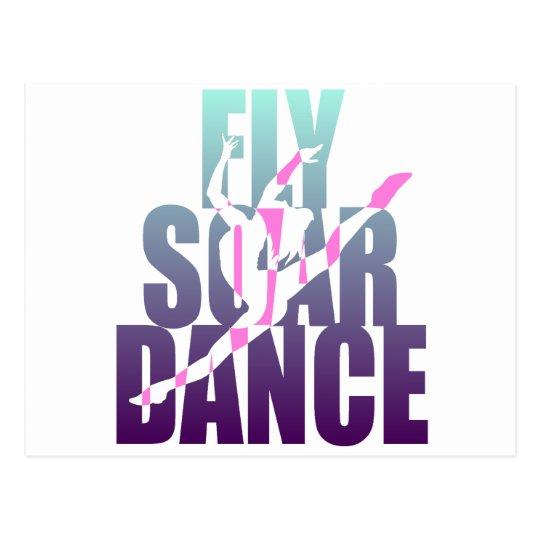Fly Soar Dance Postcard