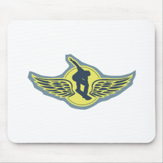 Fly Solo Mouse Pad