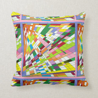 Fly Spin Throw Pillow