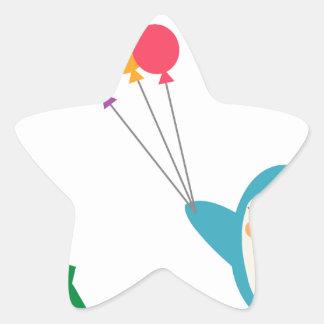 fly star sticker