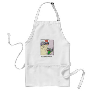 Fly Swat Team Funny Police Gifts & Collectibles Adult Apron