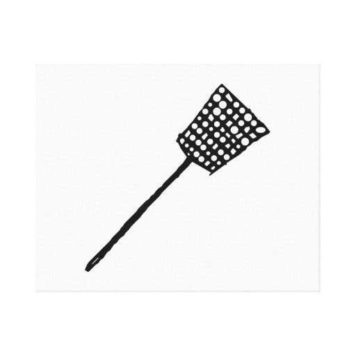 Fly Swatter Gallery Wrapped Canvas