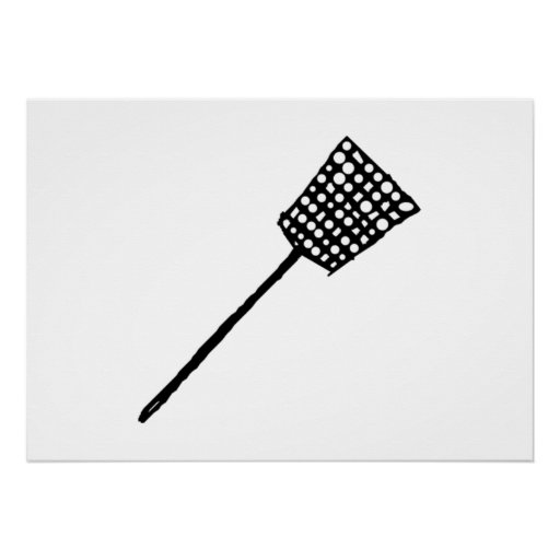 Fly Swatter Poster