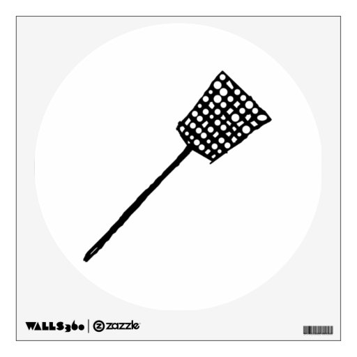 Fly Swatter Room Stickers