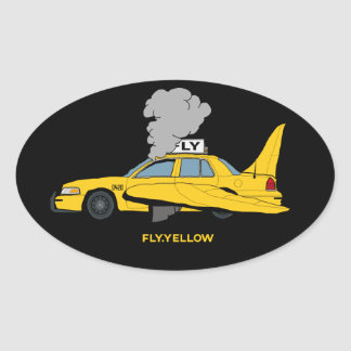 FLY TAXI STICKER