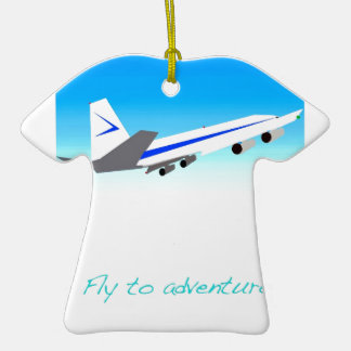 Fly to Adventure Ornament