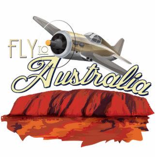 Fly To Australia Cutout