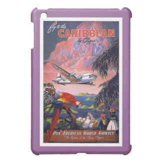 Fly To Caribbean Vintage Cover For The iPad Mini