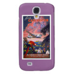 Fly To Caribbean Vintage Galaxy S4 Covers
