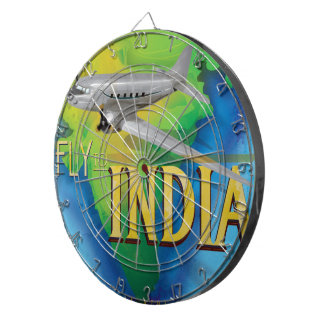 Fly To India Dart Board