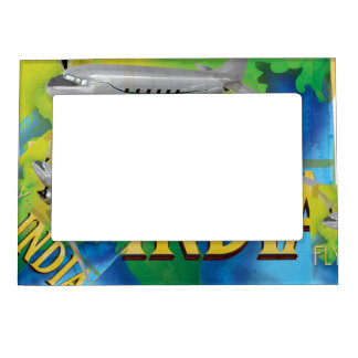 Fly To India Magnetic Frame