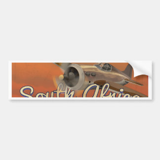 Fly to South Africa Bumper Stickers