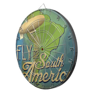 Fly To South America Dart Boards