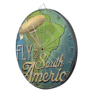 Fly To South America Dartboard