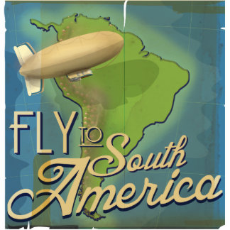 Fly To South America Statuette