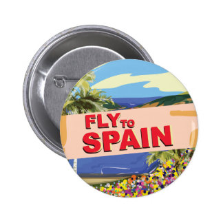 Fly To Spain Button