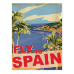Fly To Spain Postcards