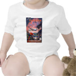 Fly To The Caribbean Pan American World Airways Baby Bodysuit