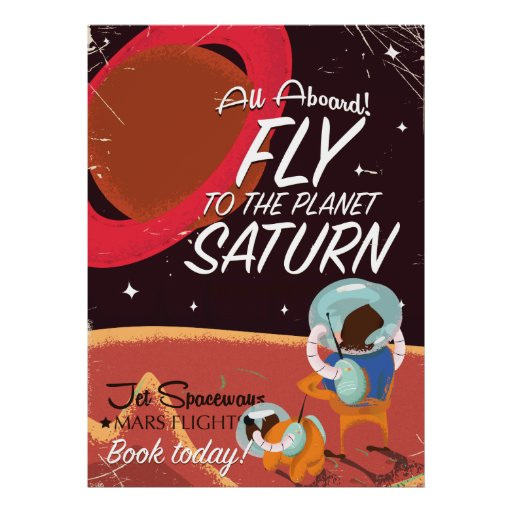 planet saturn poster - photo #38