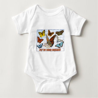 Fly To Your Dreams Baby Bodysuit