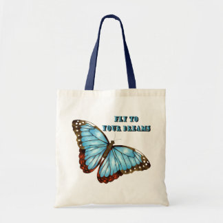 Fly to Your Dreams Budget Tote Bag