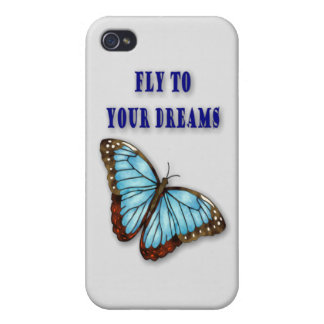 Fly To Your Dreams iPhone 4/4S Cases