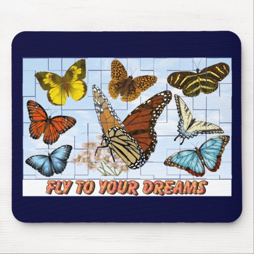 Fly To Your Dreams Mouse Pads