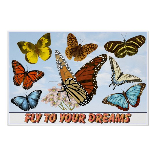 Fly To Your Dreams Poster