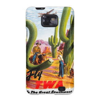 Fly TWA to the Great Southwest! Galaxy SII Case