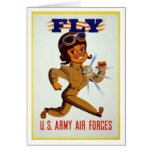 Fly - U.S. Army Air Forces Card