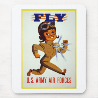 Fly - U.S. Army Air Forces Mouse Pad