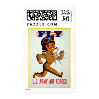 Fly - U.S. Army Air Forces Postage
