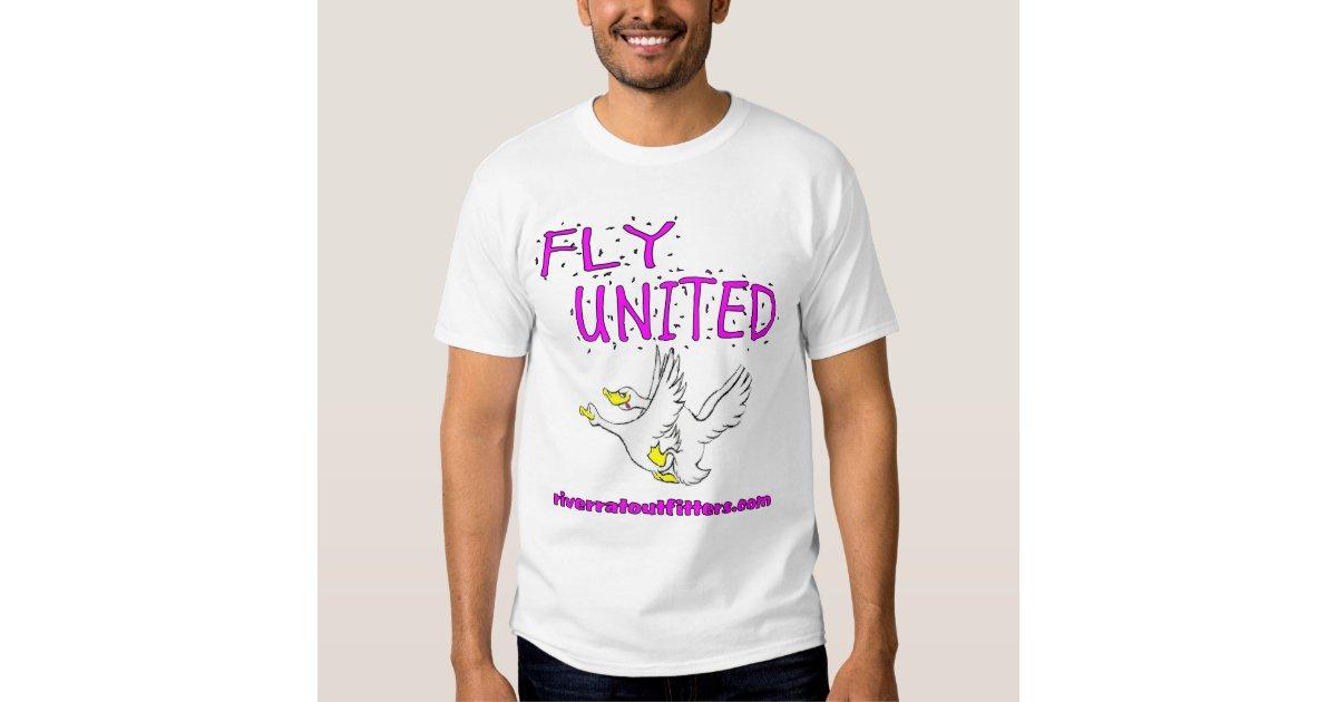 Fly United Tee Shirt Zazzle