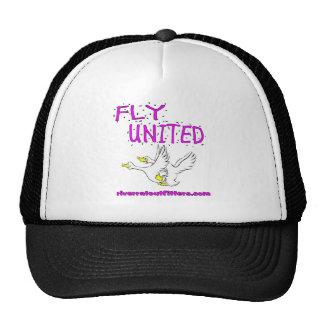 fly united trucker hat