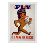 Fly - US Army Air Forces Poster