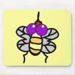 Fly_Vector_Clipart Mouse Pads