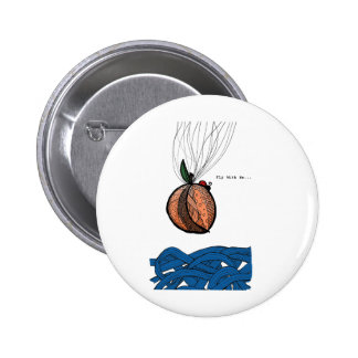 Fly With Me Pinback Button
