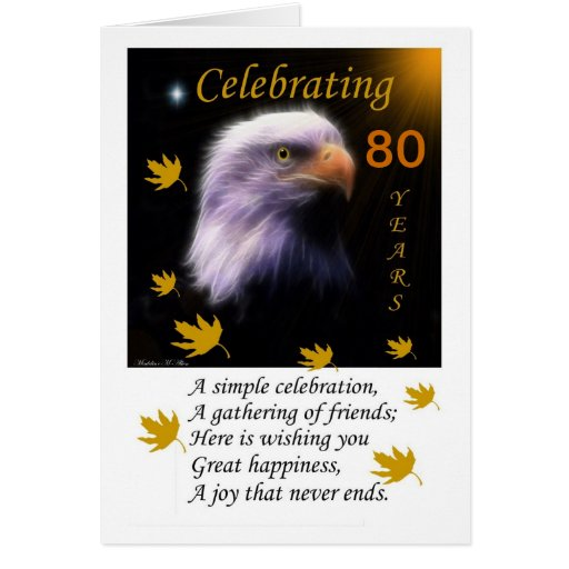 Fly With The Eagles / Celebrate Greeting Card