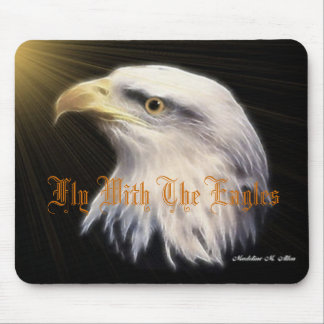 Fly With The Eagles Mouse Pad
