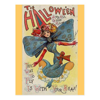 Fly With Your Beau Postcard