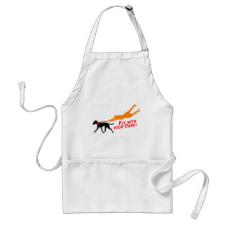 Fly With Your Dane Adult Apron