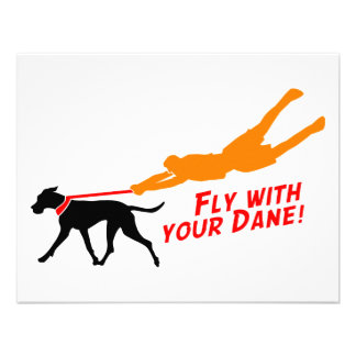Fly With Your Dane Announcements