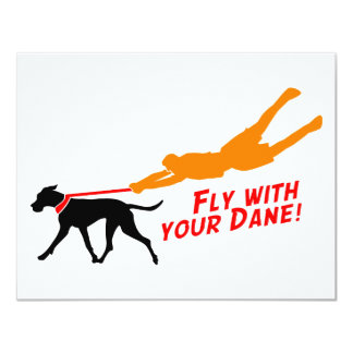 Fly With Your Dane Card