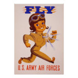 Fly ~  World War 2. Posters