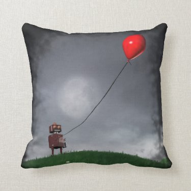 Fly Your Little Red Balloon Pillows