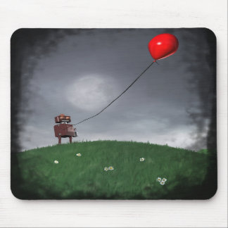 Fly Your Little Red Baloon Mousepad