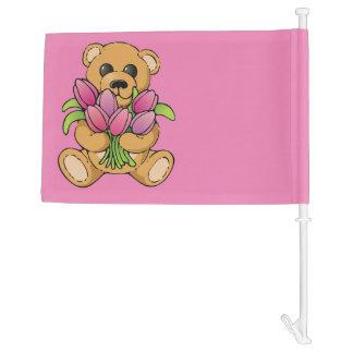 Fly your Teddy Bear! Car Flag