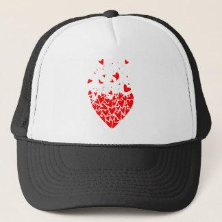 Flyaway Love Hearts Trucker Hat