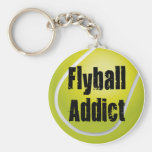 Flyball Addict Key Chains